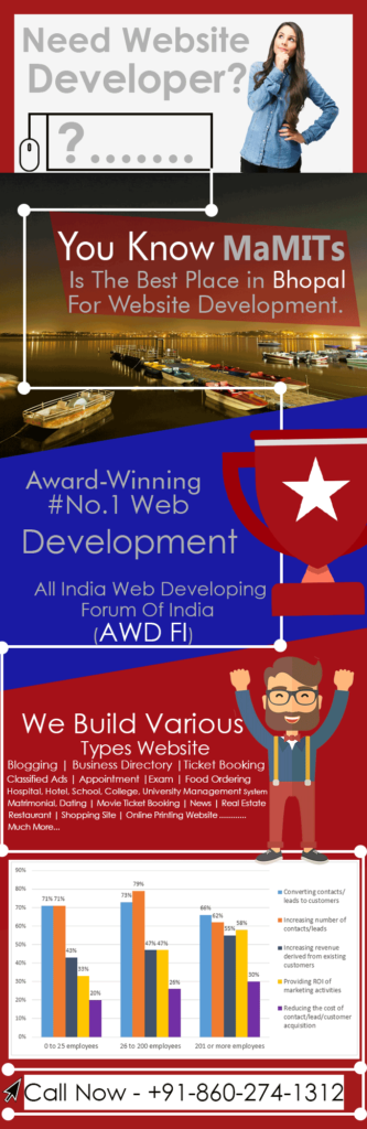 dynamic website development company in bhopal