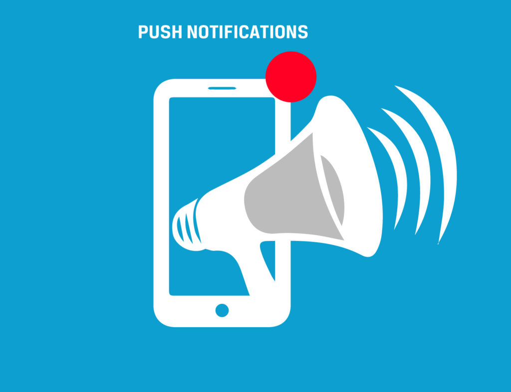 use of push notification in ecommerce website
