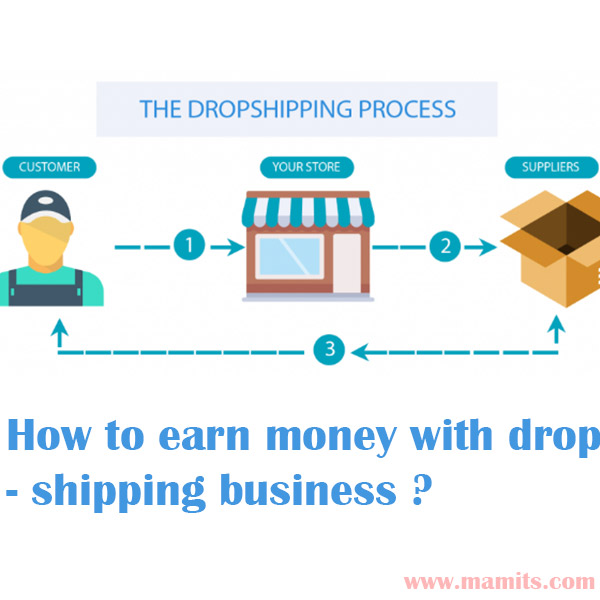 How to earn money with dropshipping business? | earn money - MaMITs
