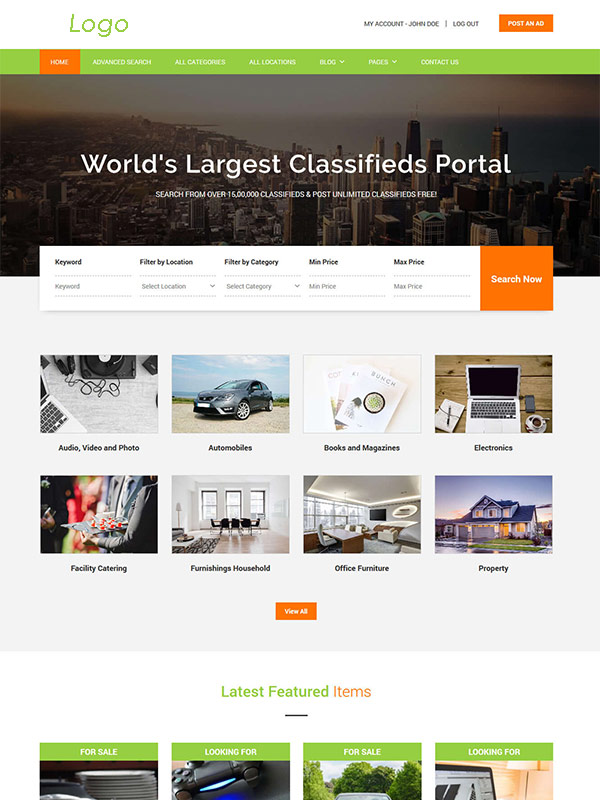 Classified Ads website | Classified Ads website development - MaMITs
