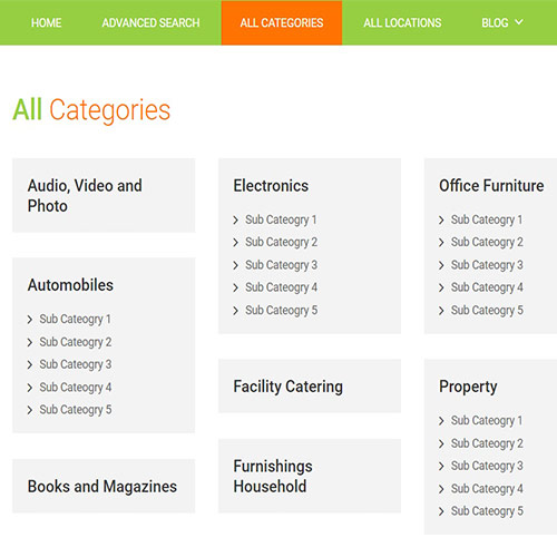 Classified Ads website | Classified Ads website development - MaMITs