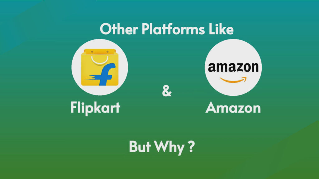 Disadvantages of selling product on another platform like : amazon or flipkart.